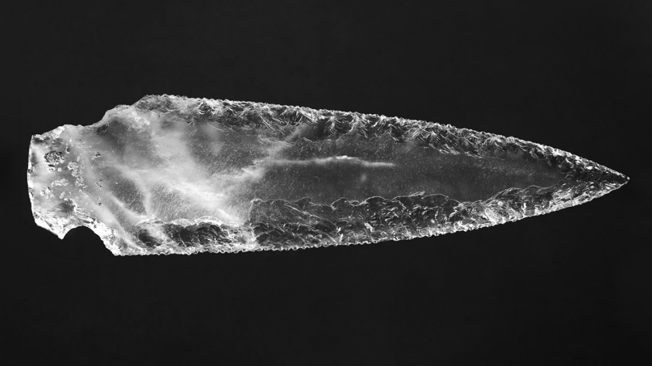 kristan hançer, 5000 yıllık kristal hançer