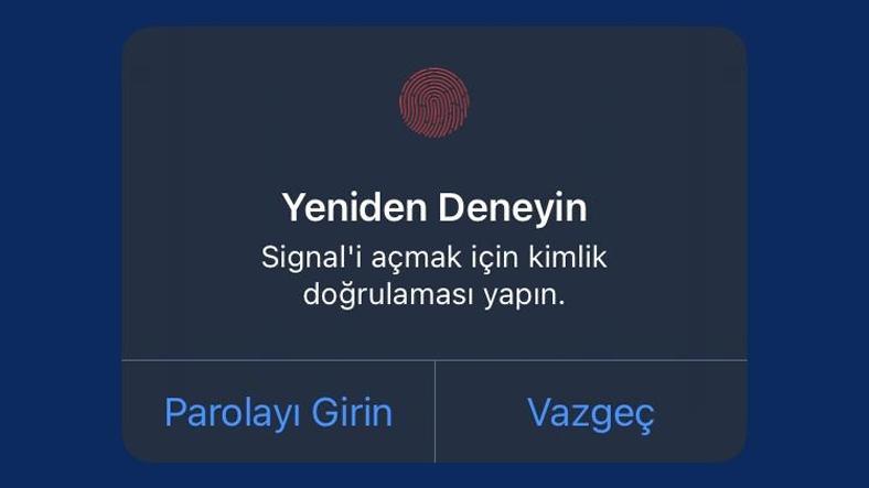 Signal güvenlik