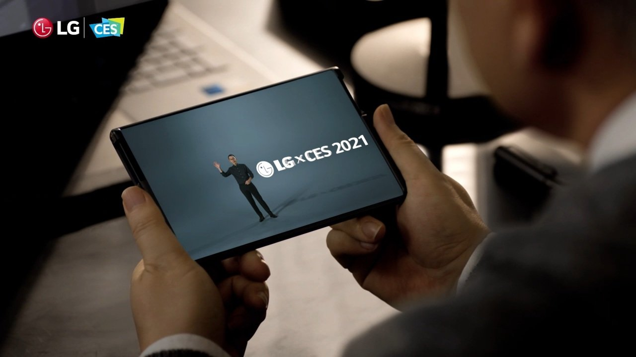 LG konsept telefon