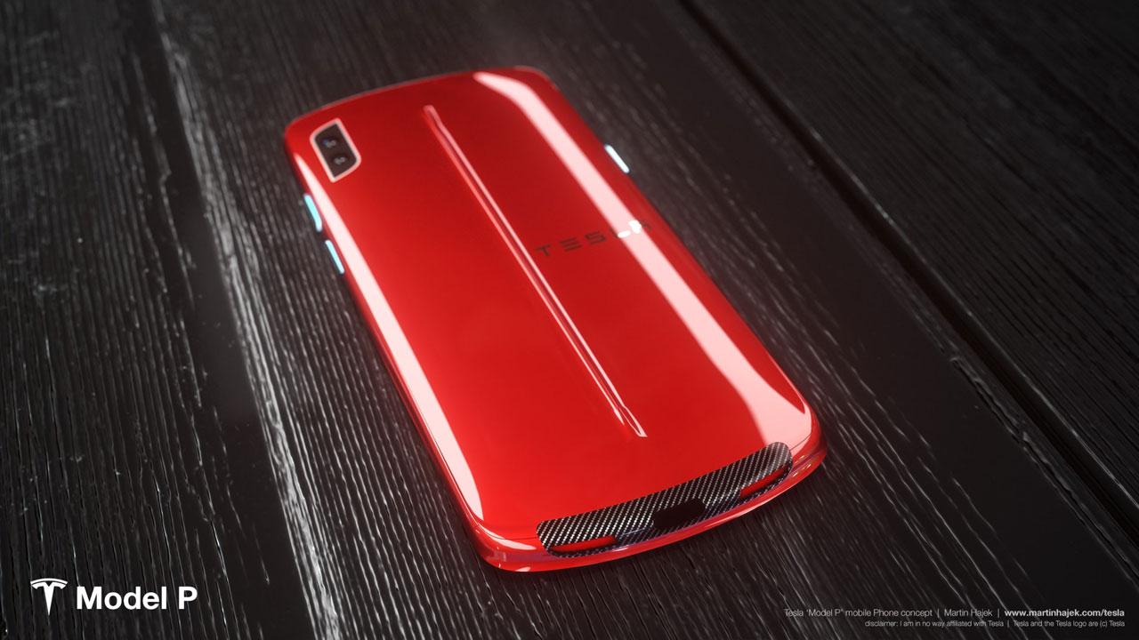 tesla akıllı telefon