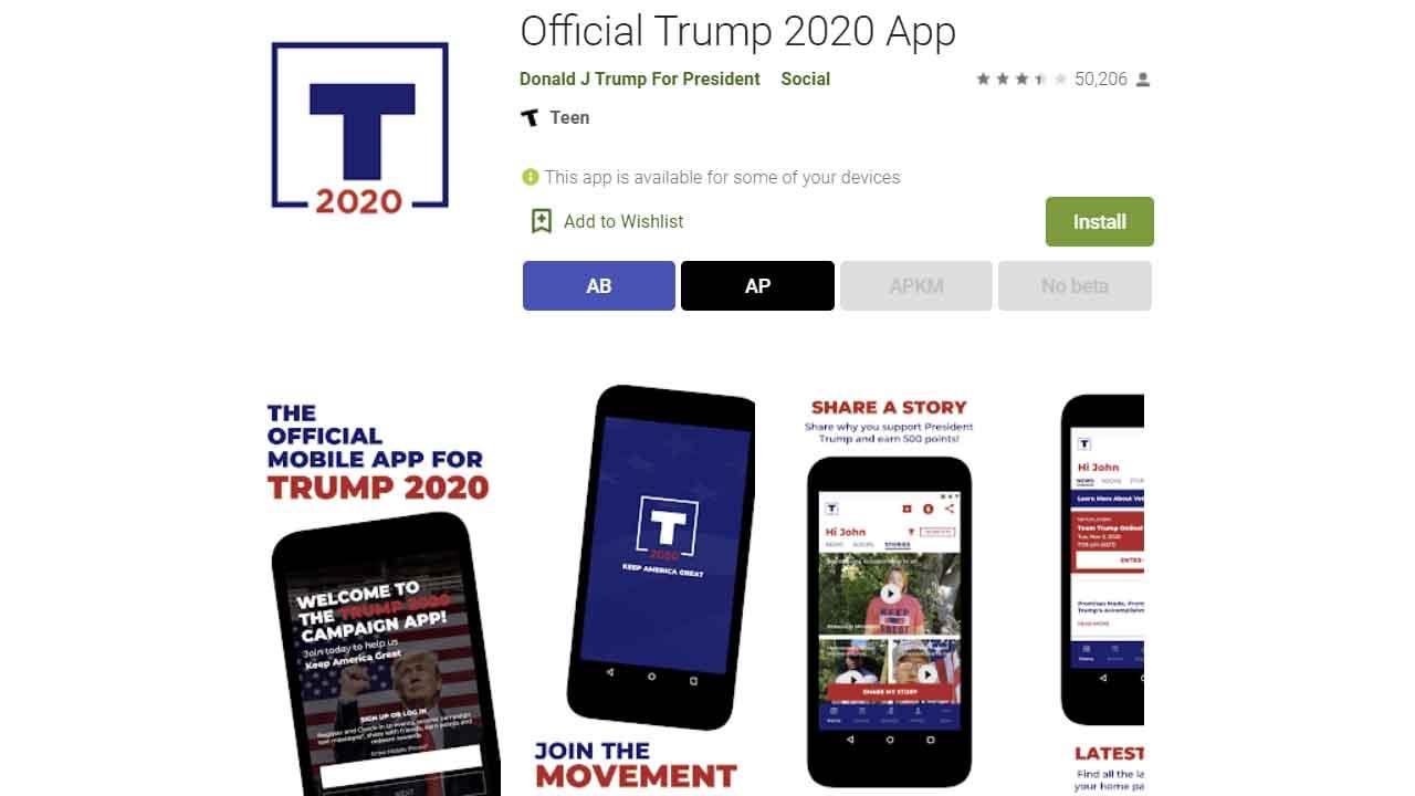 Official Trump App