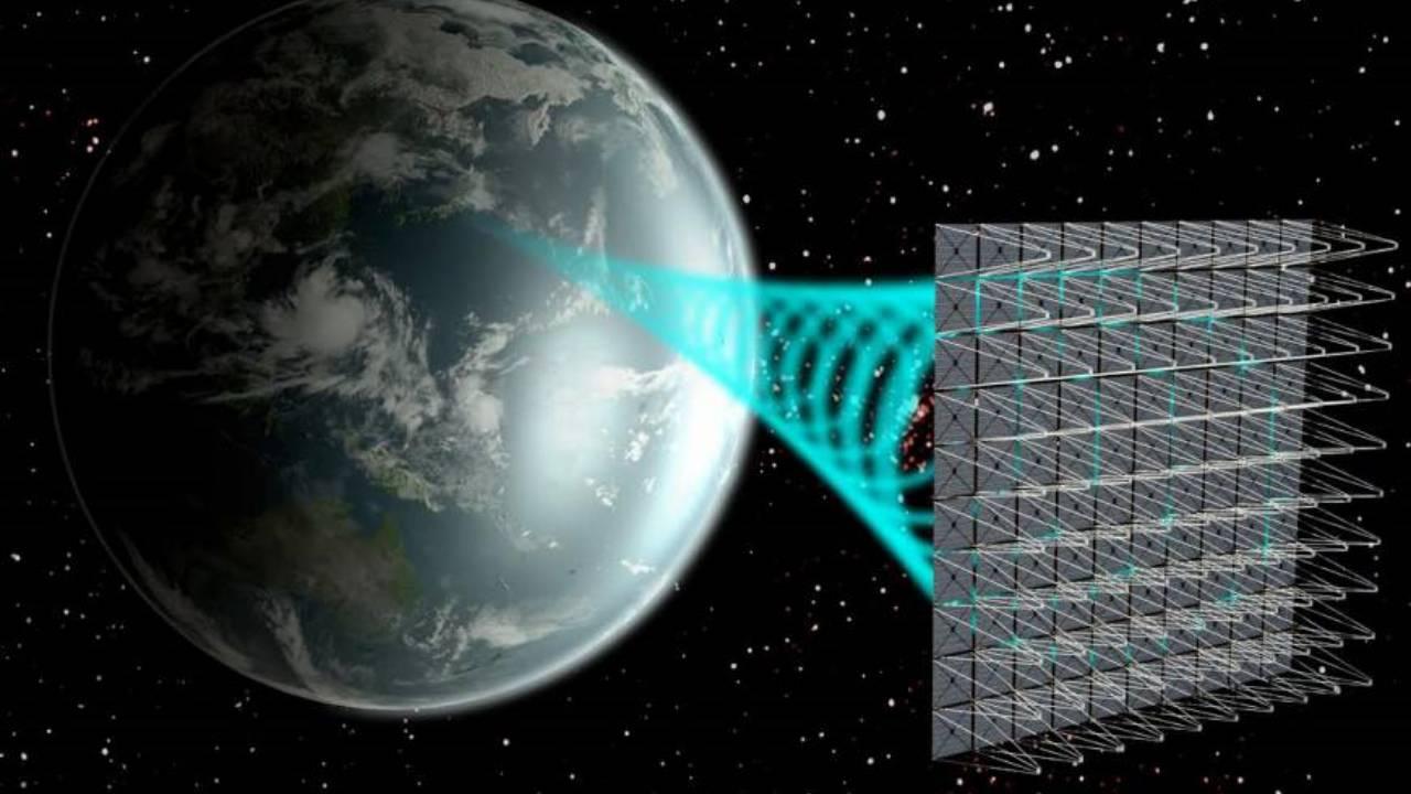 uzay temelli güneş enerjisi