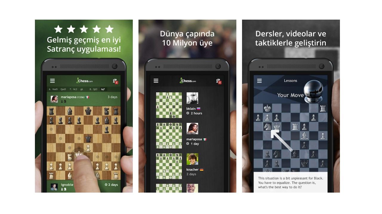 Satranç • Oyna & Öğren
