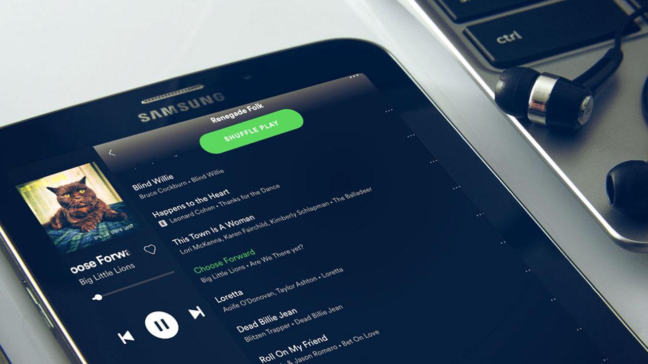 Spotify itibar yönetimi