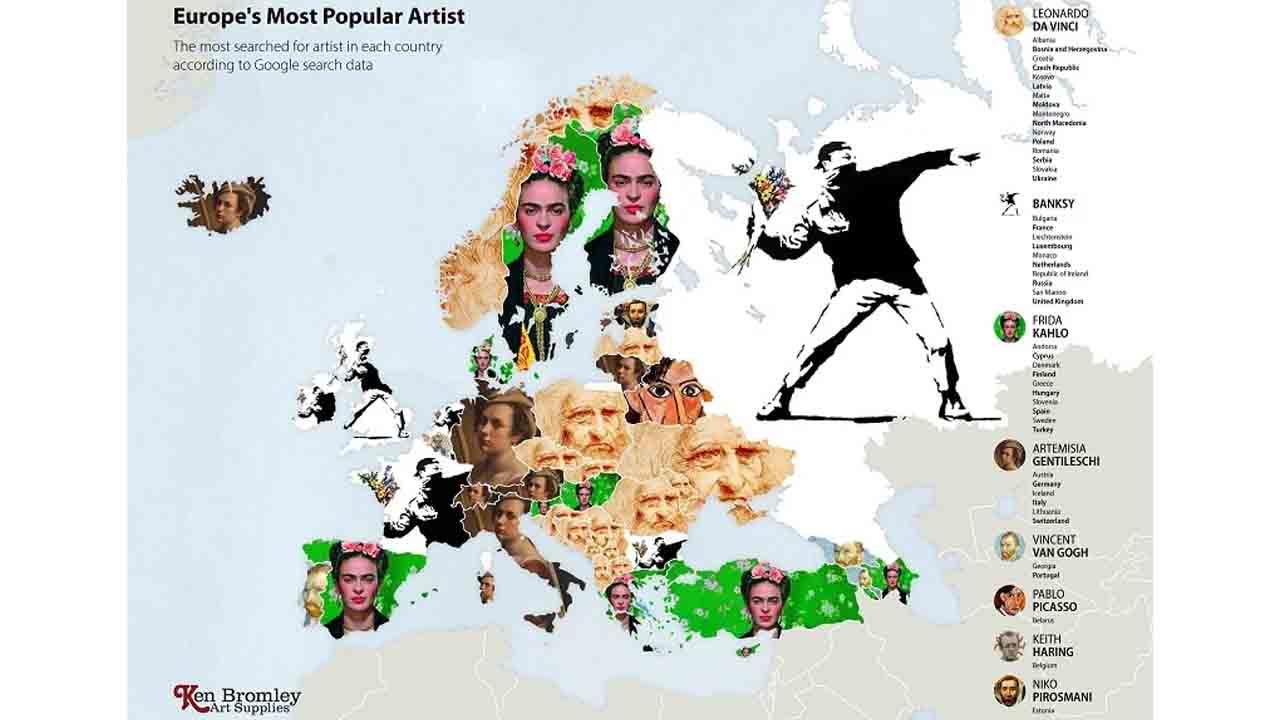 Avrupa'da en çok aranan sanatçılar