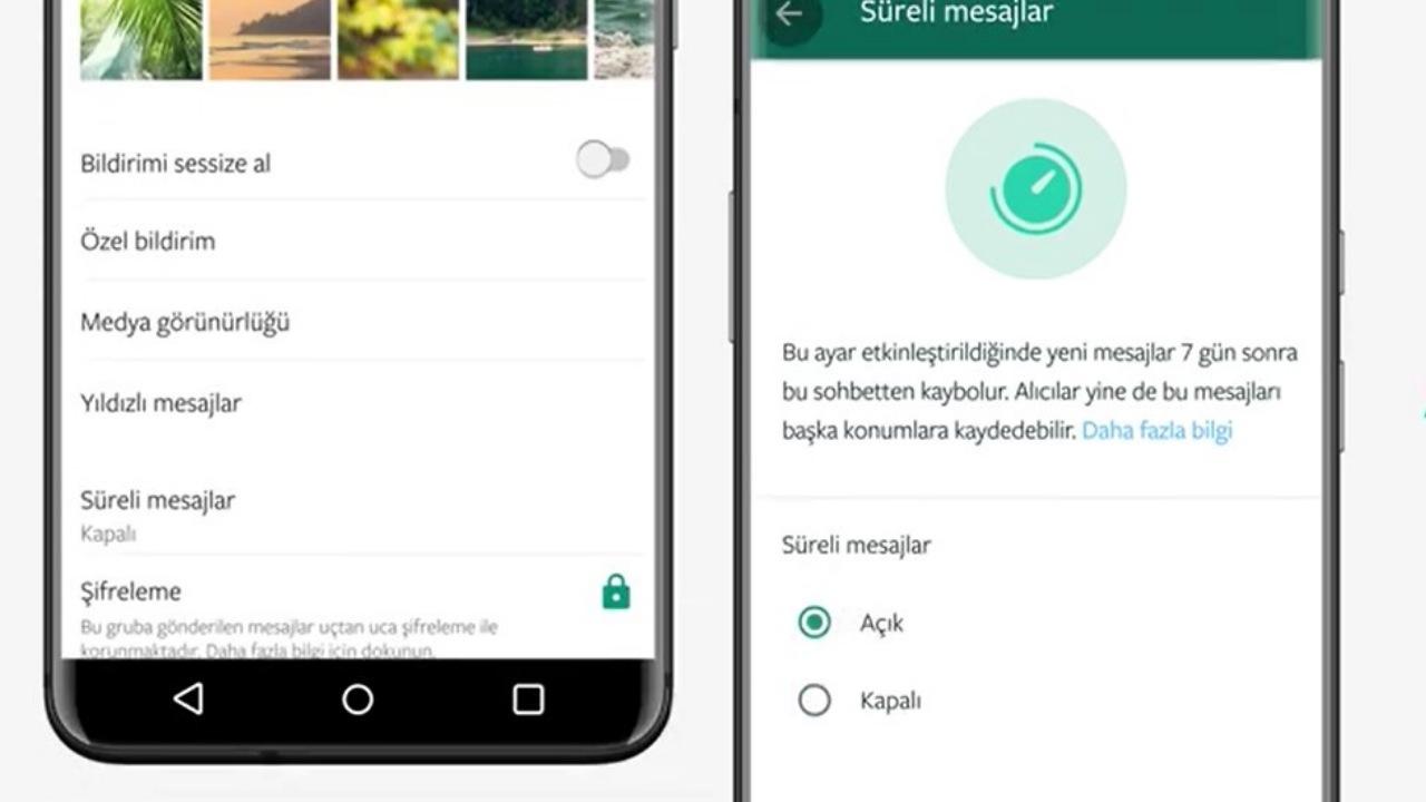 WhatsApp, Süreli Mesaj Özelliği Nasıl Kullanılır? [Video]