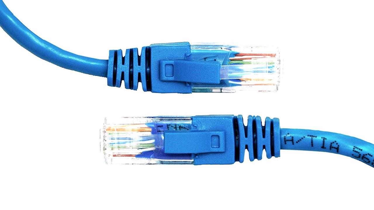 mavi ethernet kablosu
