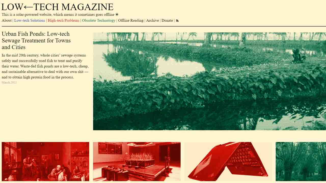 Low-tech Magazine