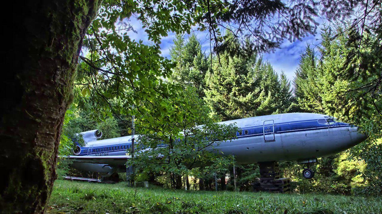 uçak orman evi