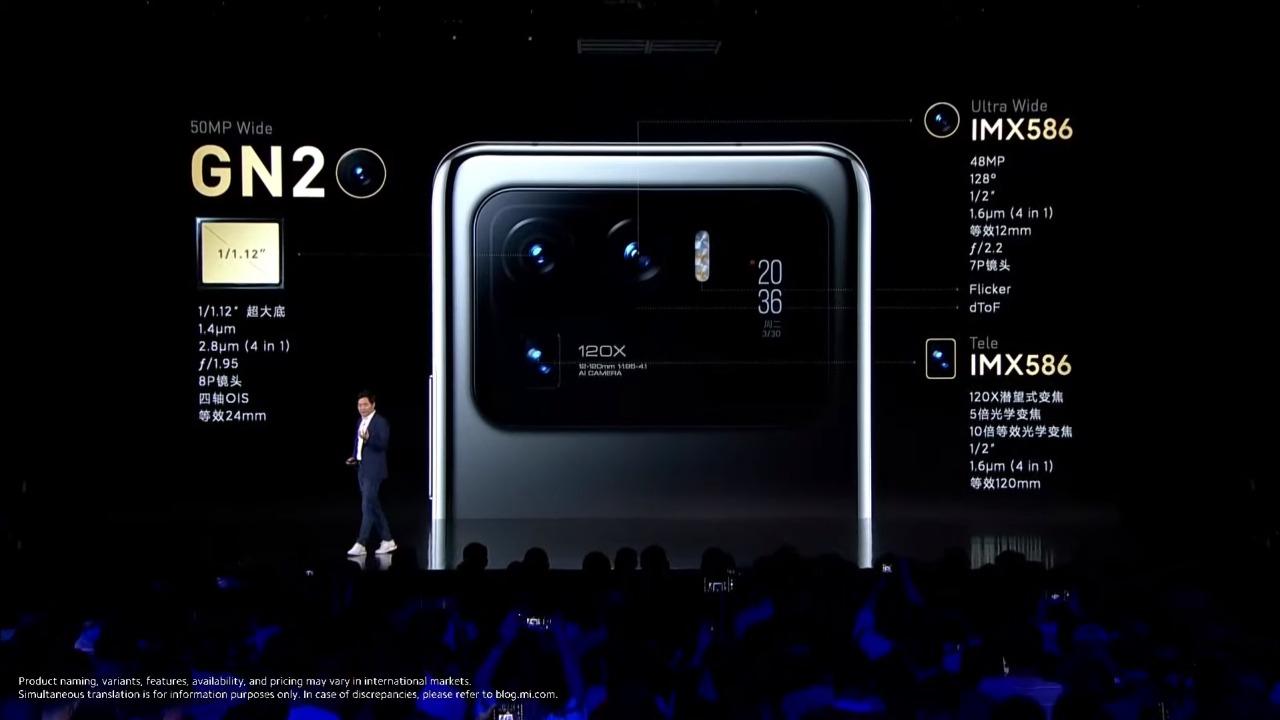 mi 11 ultra kamera detayları