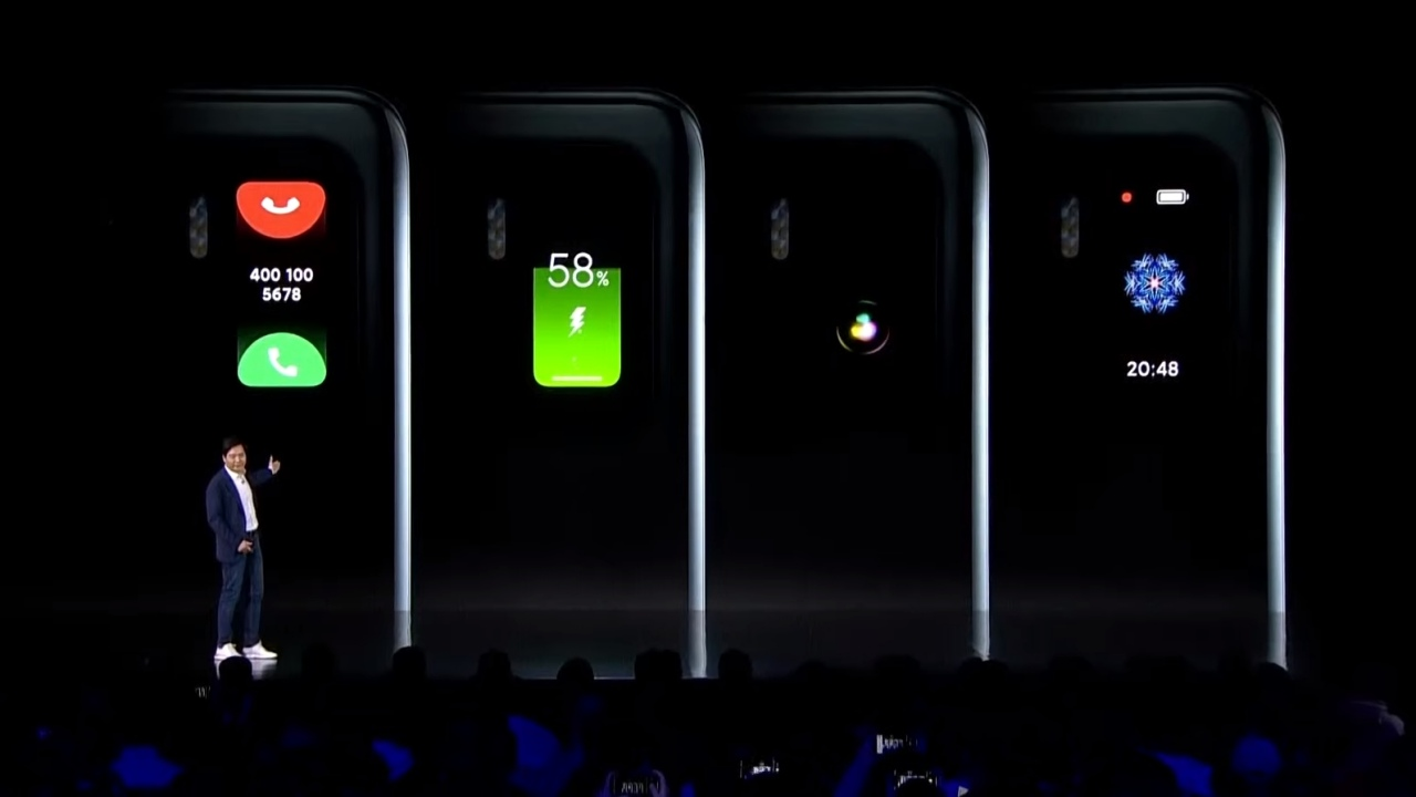 mi 11 ultra ikinci ekran