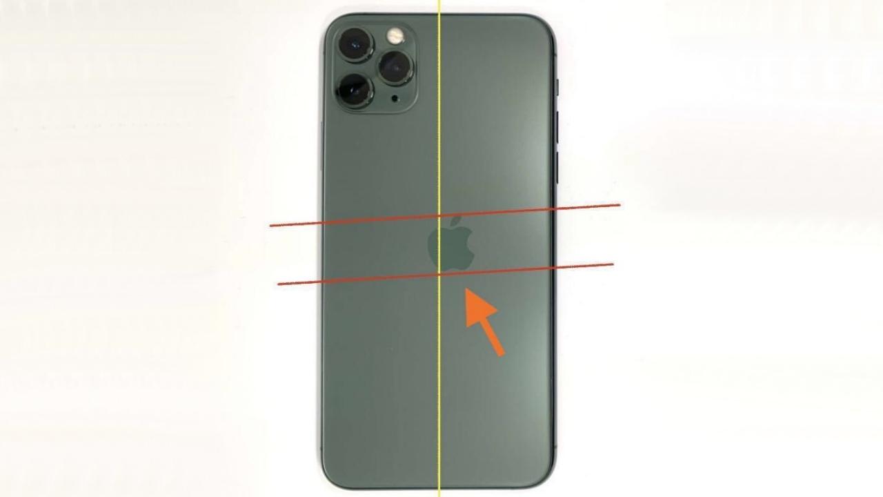 logosu hatalı iphone 11 pro
