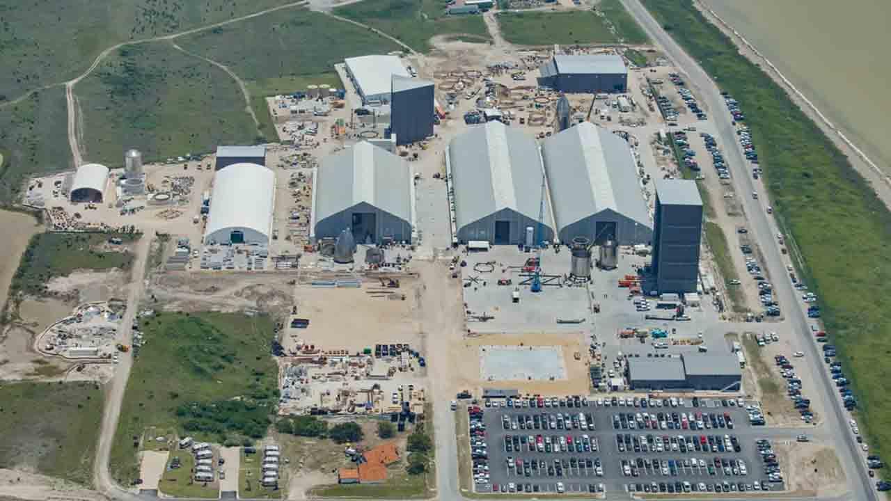 SpaceX Teksas
