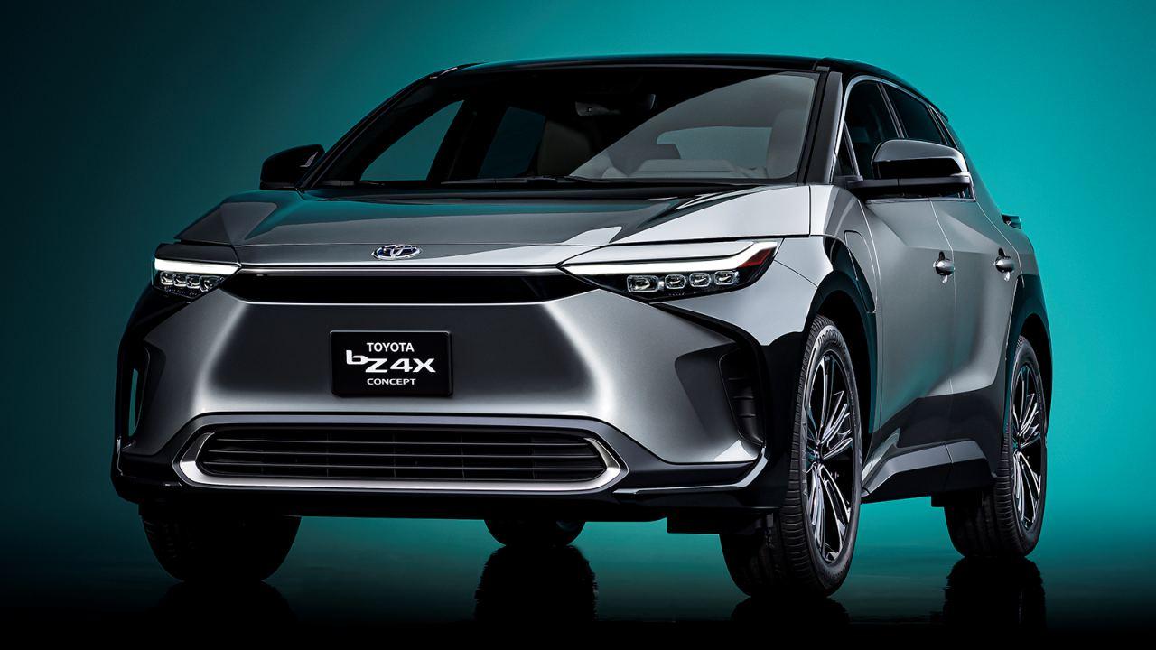Toyota bZ4X вы
