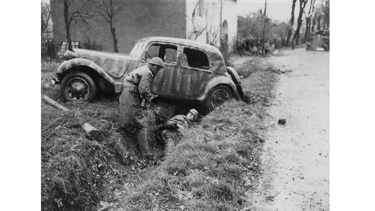 Citroën, ikinci dünya savaşı