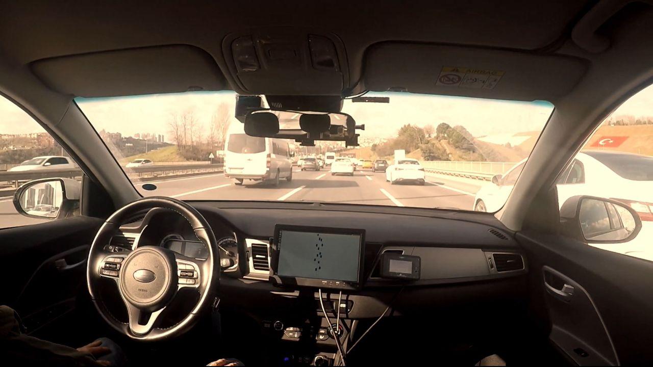 otonom araç test sürüşü