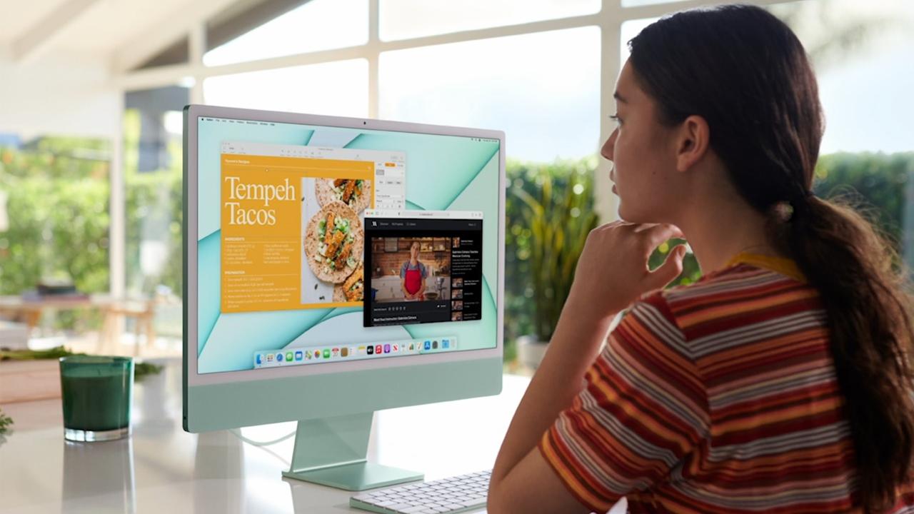 Yeni 24 inç iMac