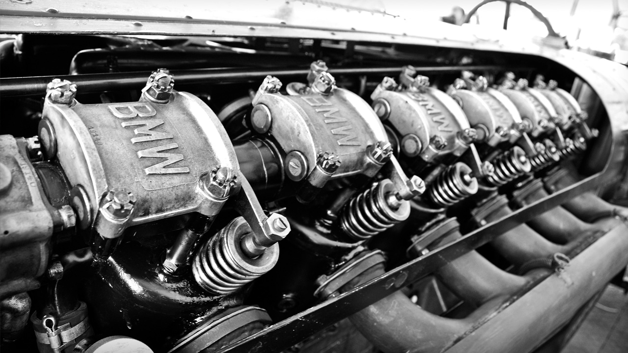 Eski BMW motoru