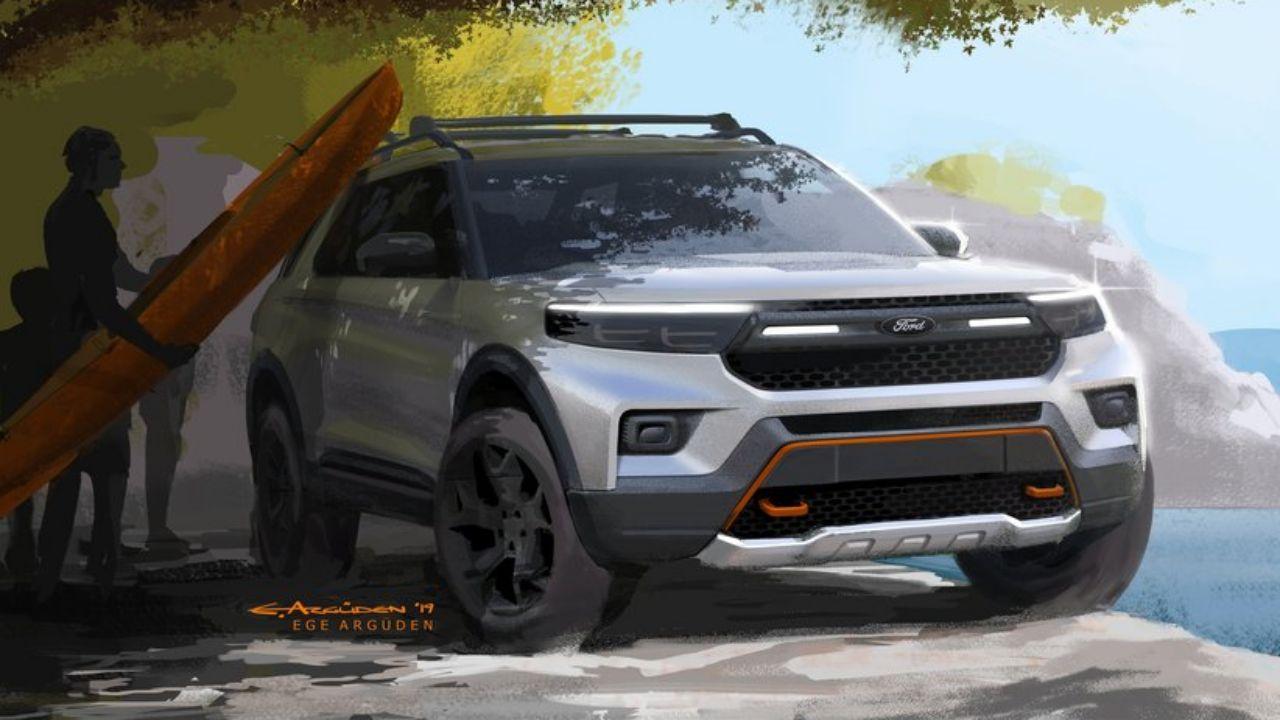 2021 Ford Explorer Timberline konsept