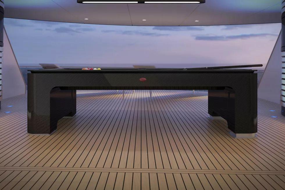 Bugatti bilyard masası 2