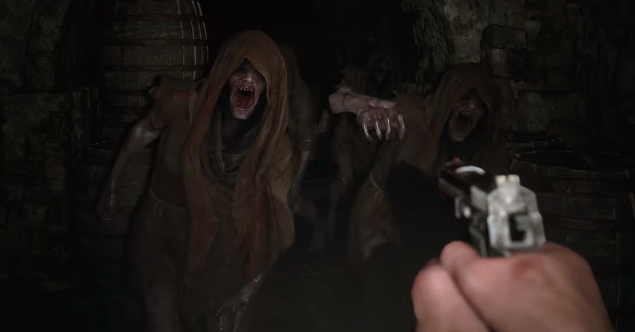 resident evil village silah ve çatışma