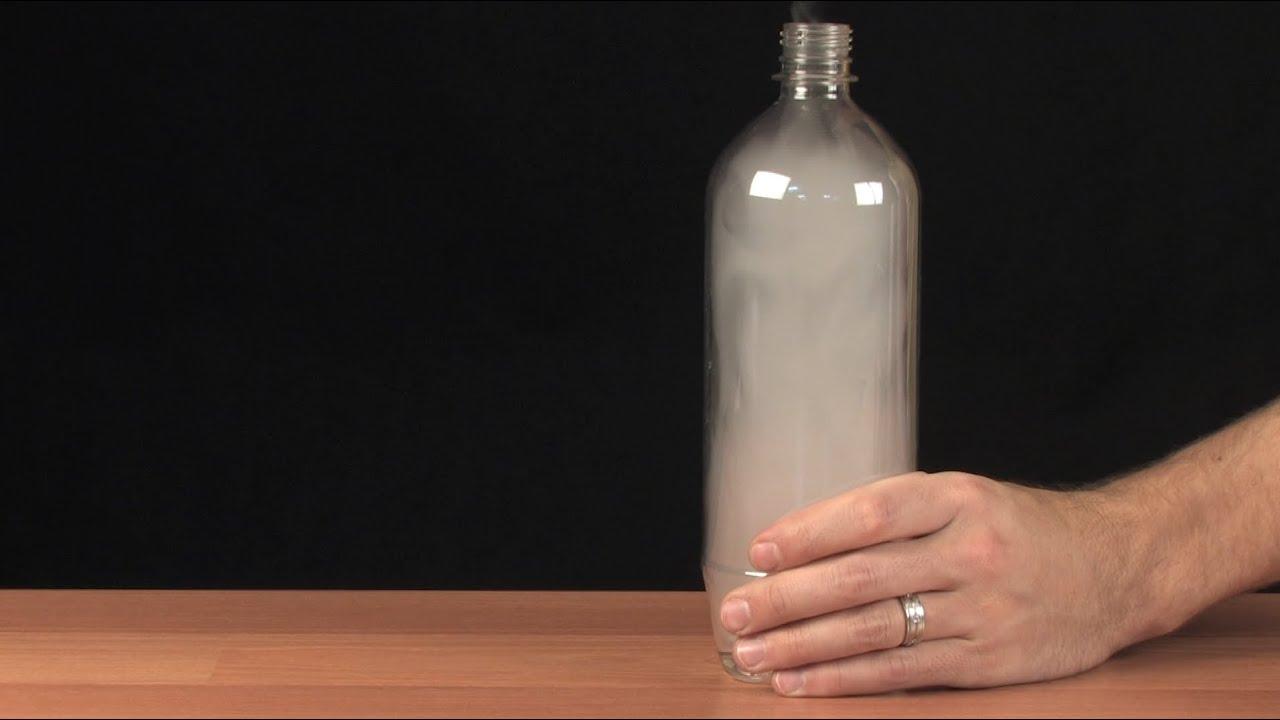 şişede bulut