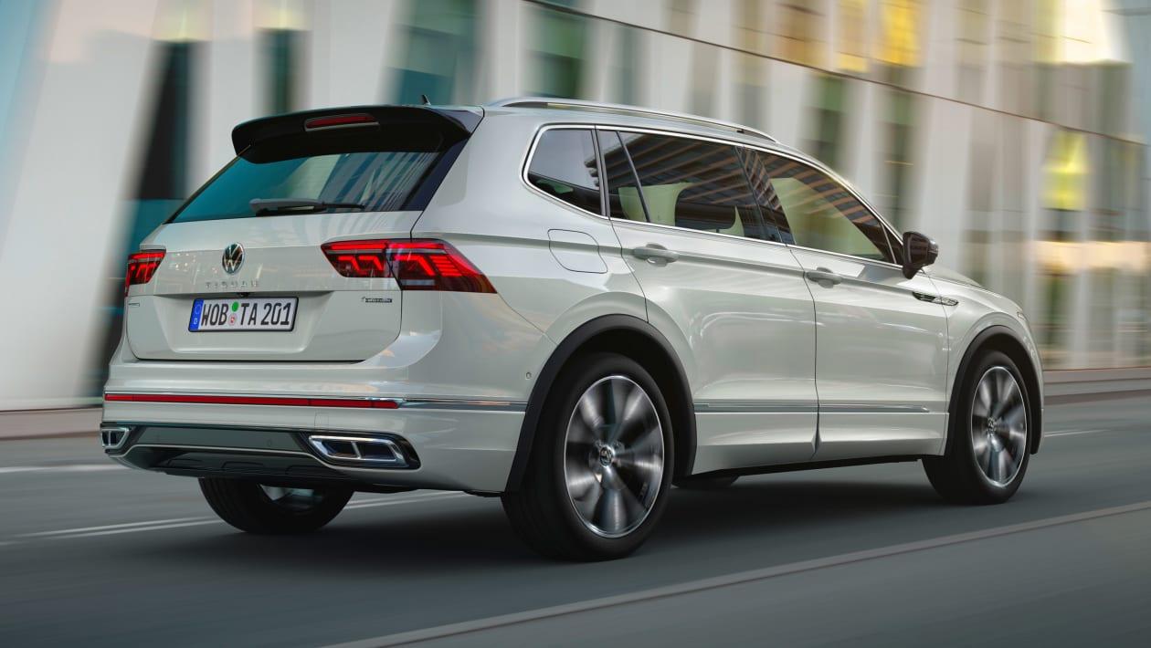 2021 Volkswagen Tiguan Allspace arka 2