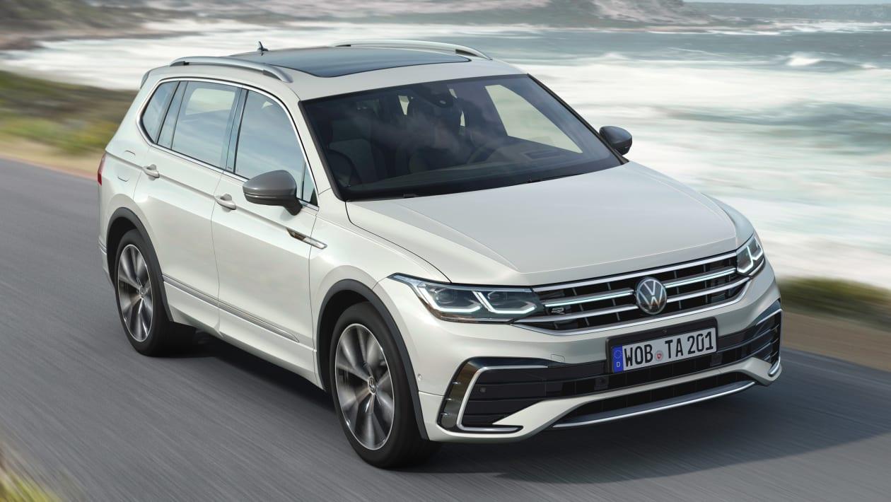 2021 Volkswagen Tiguan Allspace sizə