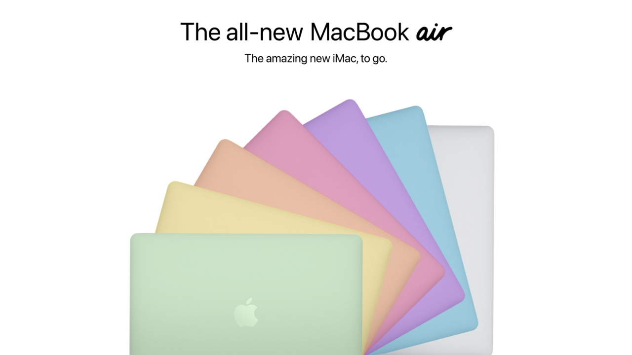 macbook air renkler