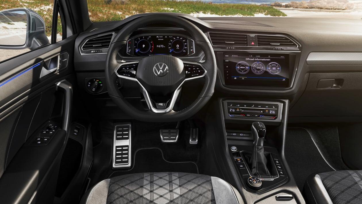2021 Volkswagen Tiguan Allspace iç 2