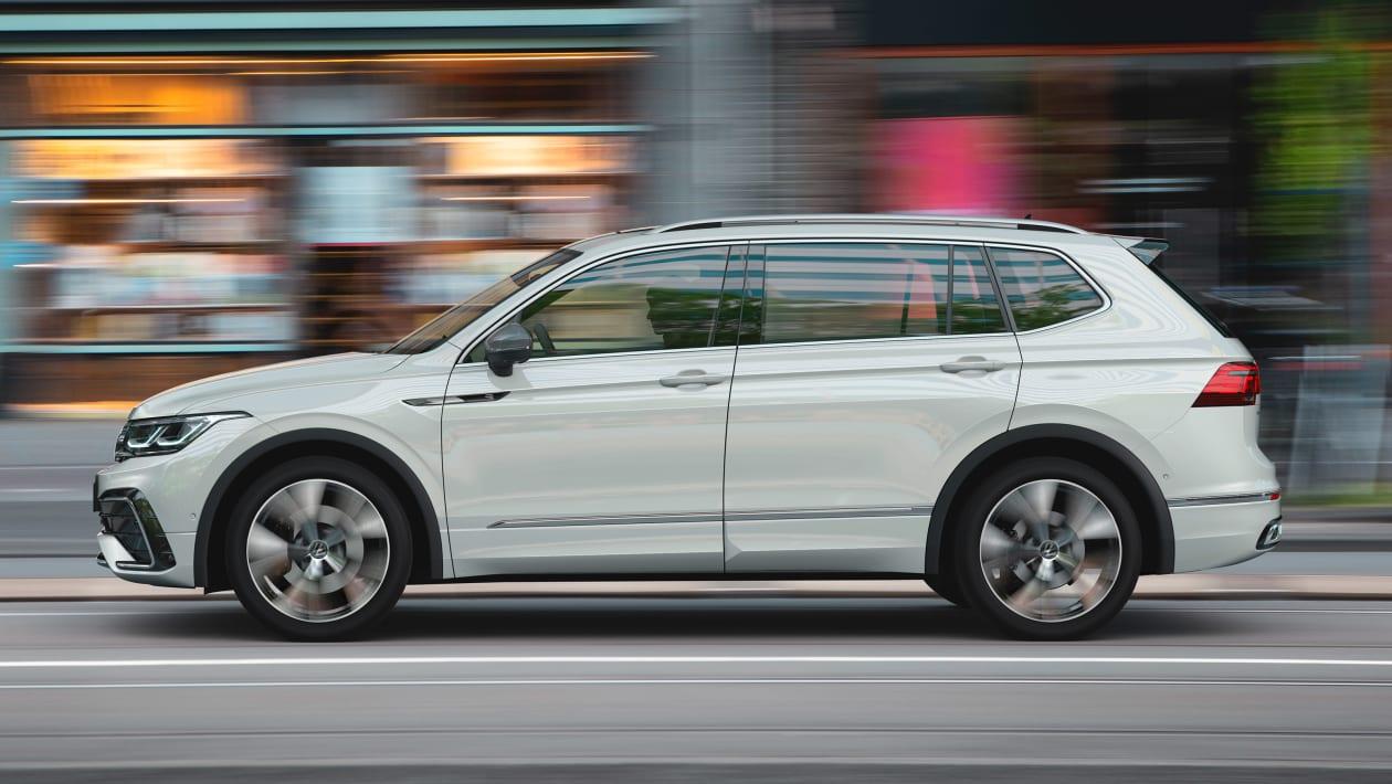 2021 Volkswagen Tiguan Allspace yan