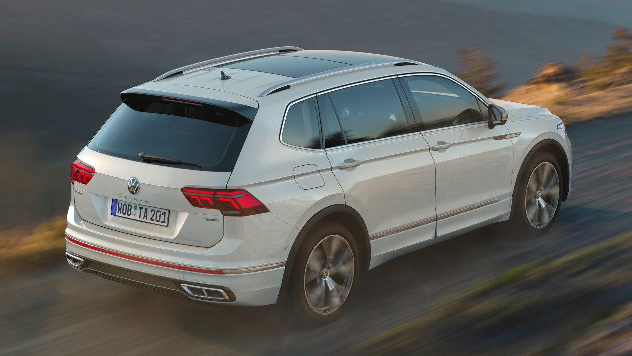 2021 Volkswagen Tiguan Allspace arka