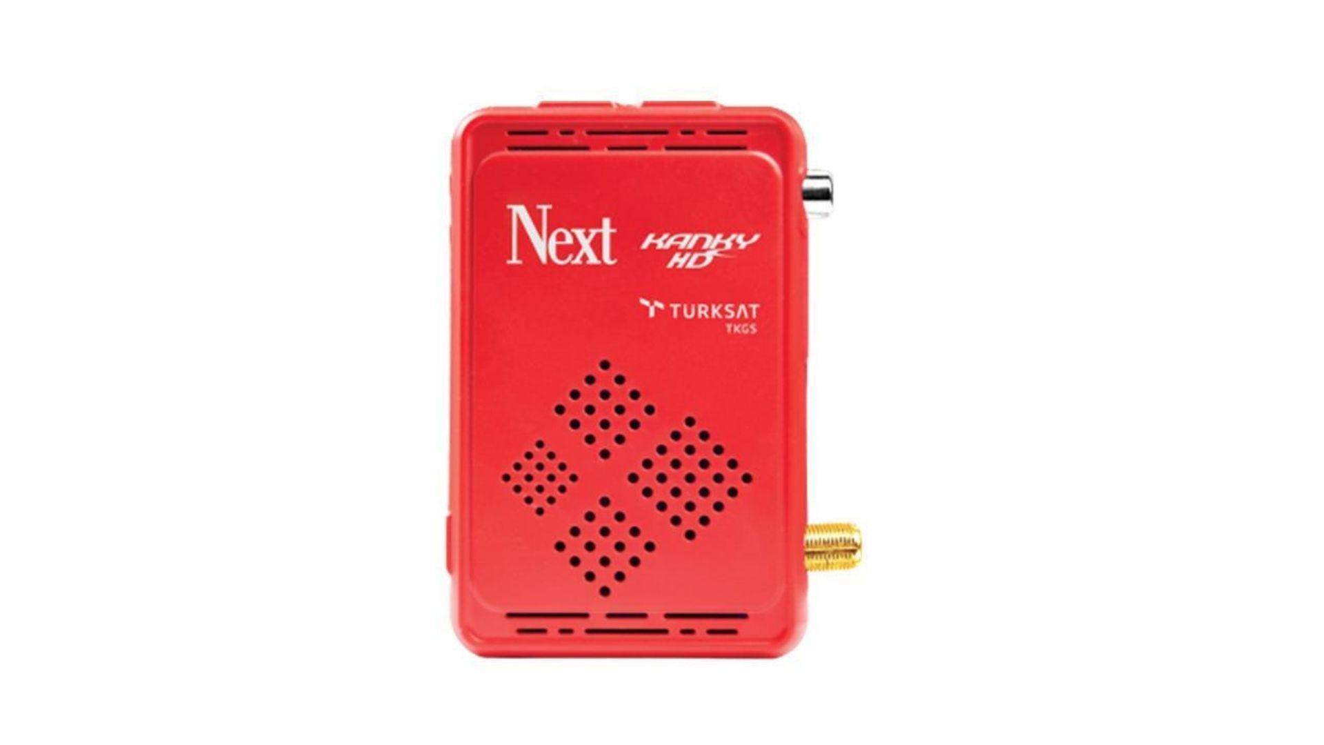 Next KankyTkgs Des HD uydu alıcı