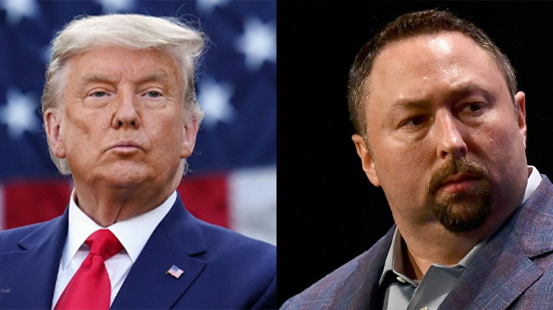 Donald Trump ve Jason Miller