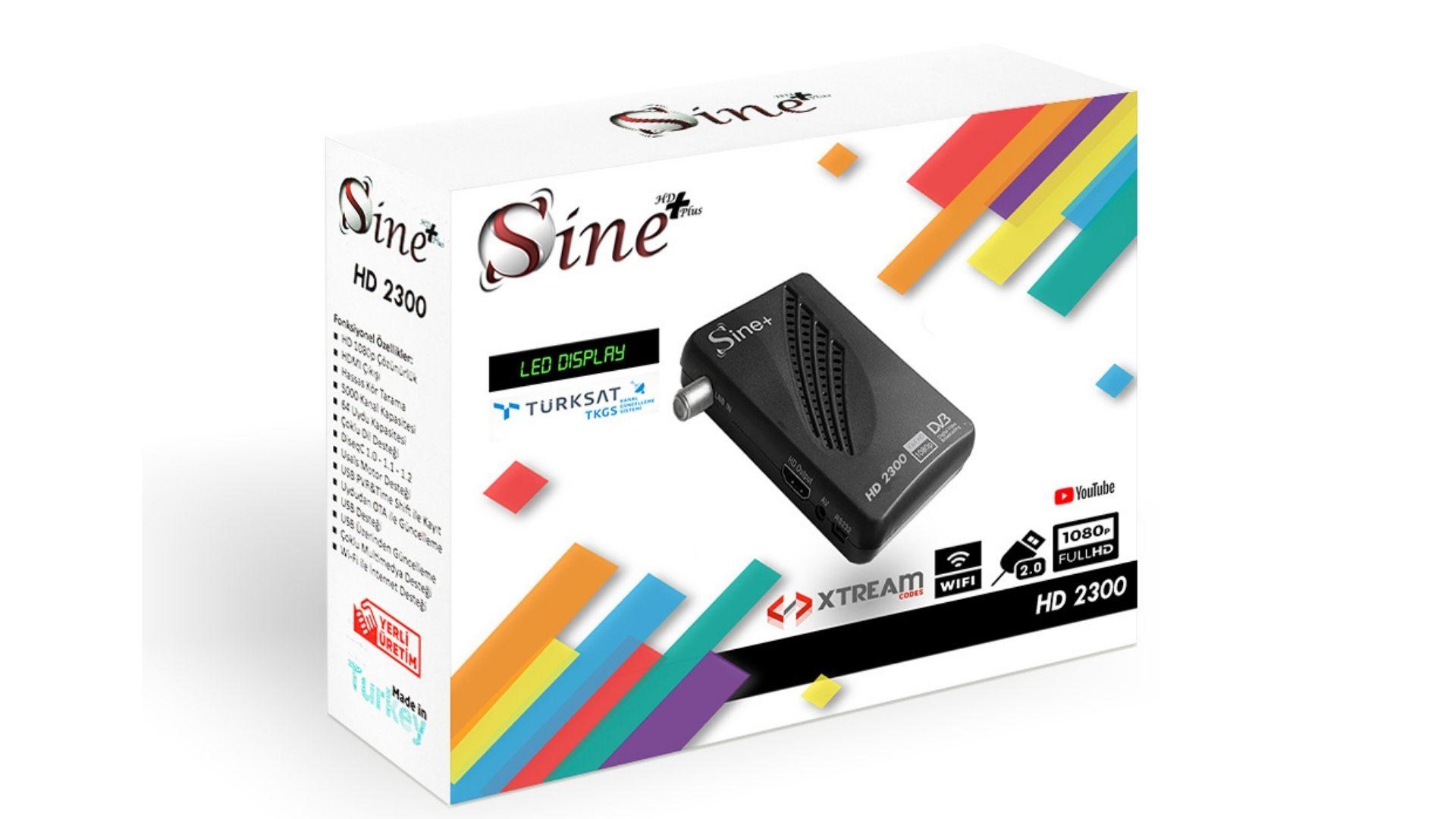 Sine Plus 2300 HD mini uydu alıcısı