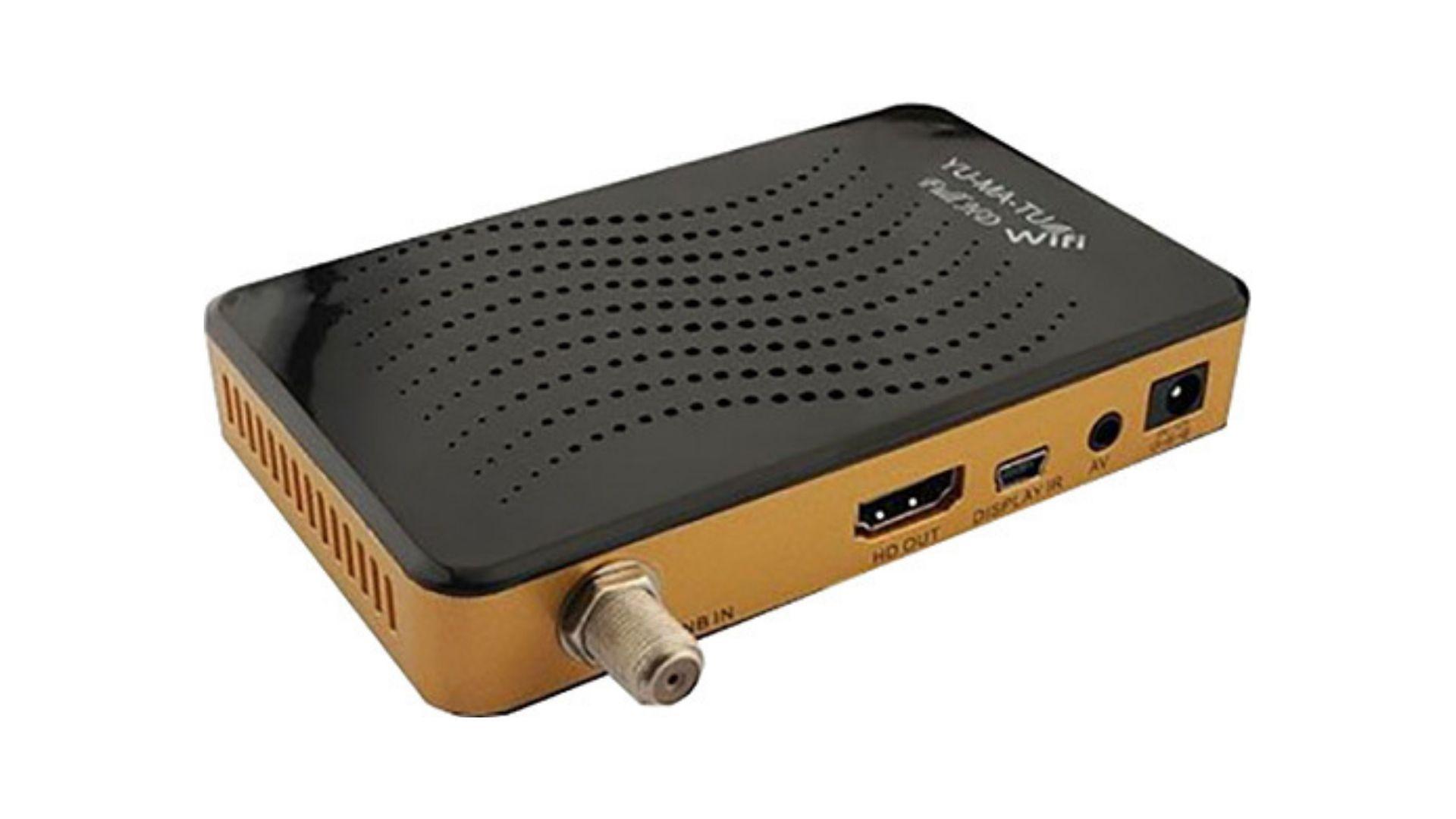 YUMATU HD uydu alıcısı - TKGS kanal güncelleme