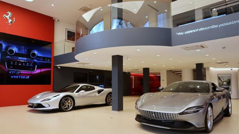 Ferrari müzesi