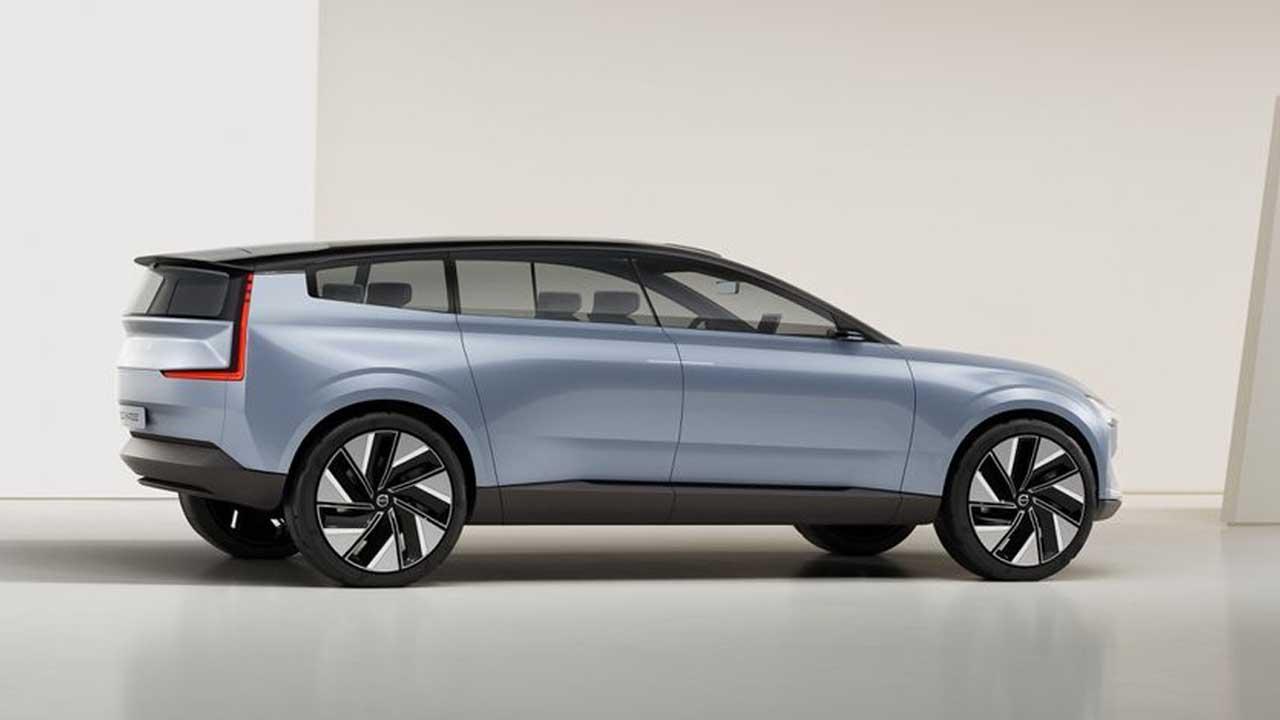 Volvo Announces 'Recharge' Electric Concept Car 5