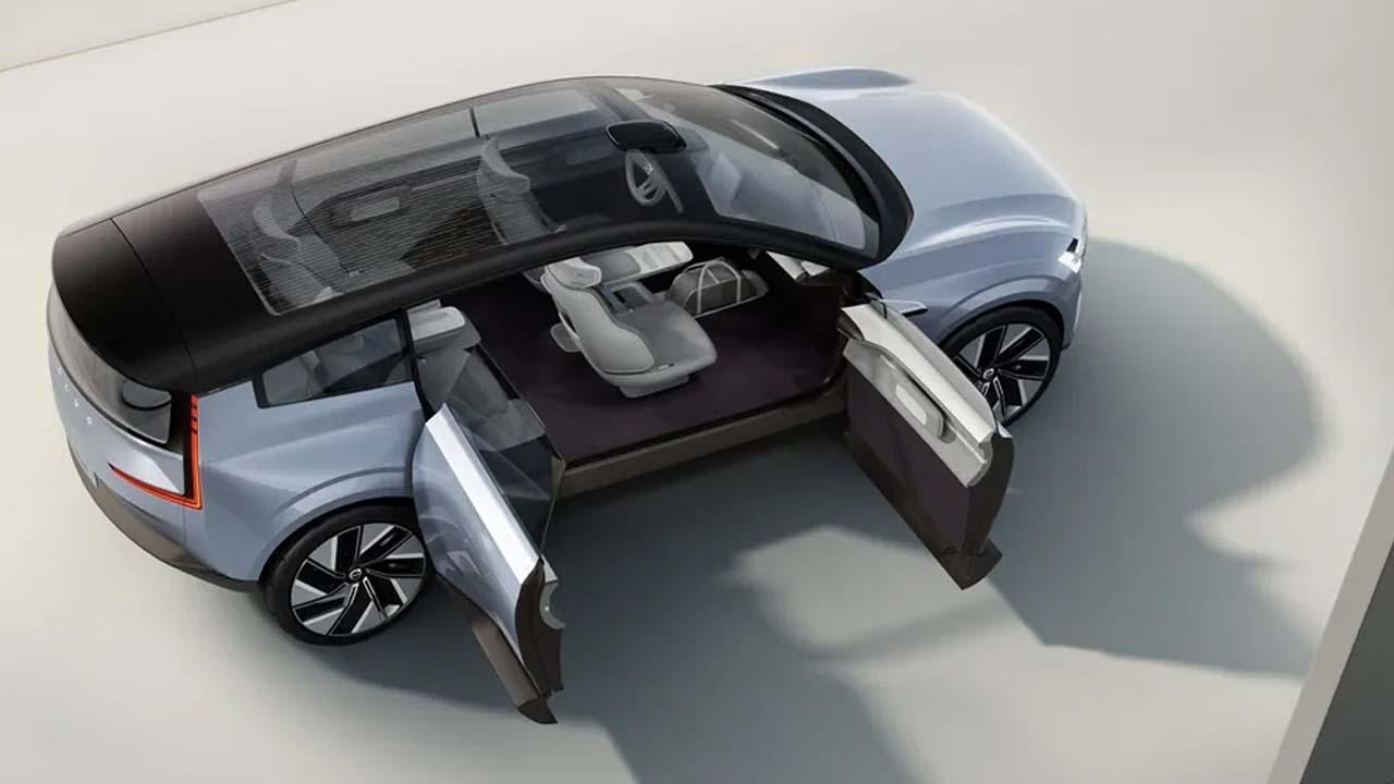 Volvo Announces 'Recharge' Electric Concept Car 3