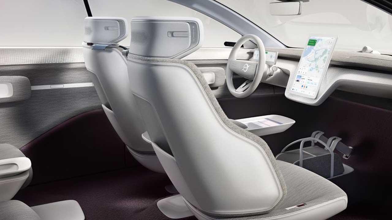 Volvo Announces 'Recharge' Electric Concept Car 4