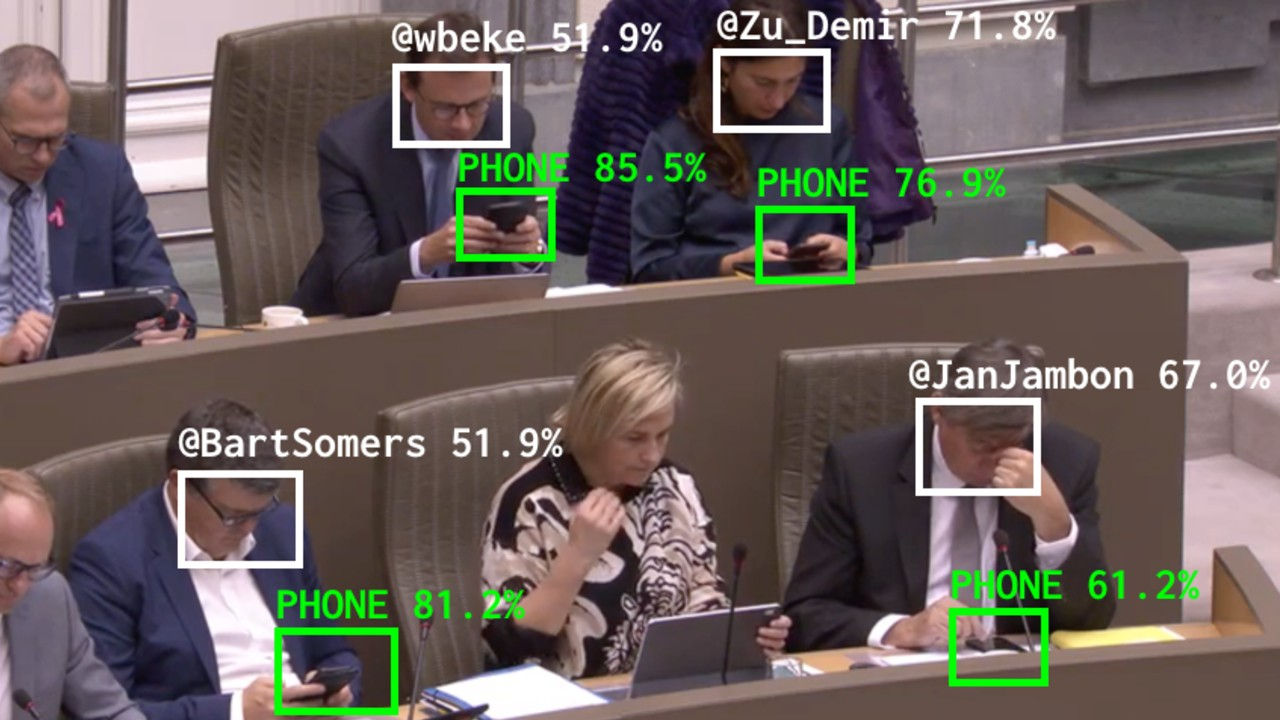 Parti Kur, Oy Verelim: Belçika'da Mecliste 'Uyuyan' Milletvekillerini Twitter'da İfşa Eden Bir Uygulama Başlatıldı