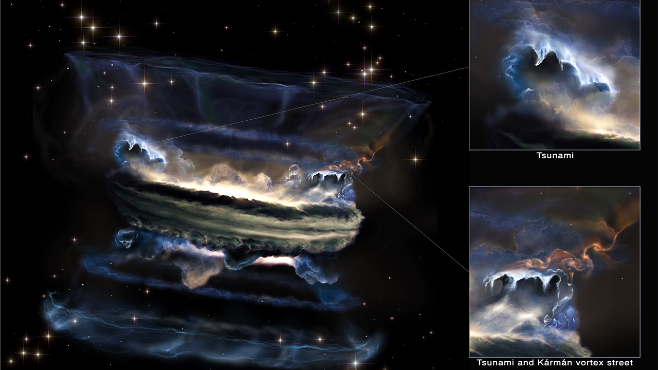 Black Holes Can Cause Massive Space Tsunamis 2
