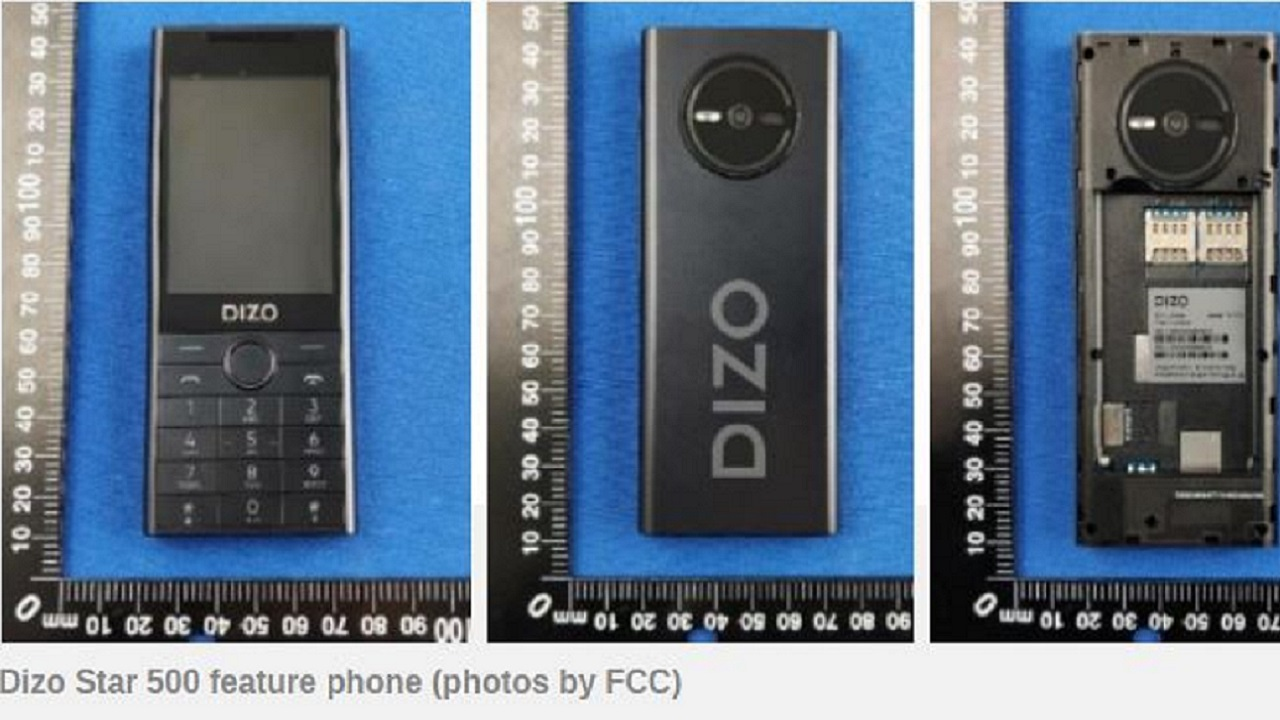 DIZO Shared A Promotional Image From Its First Phone 4