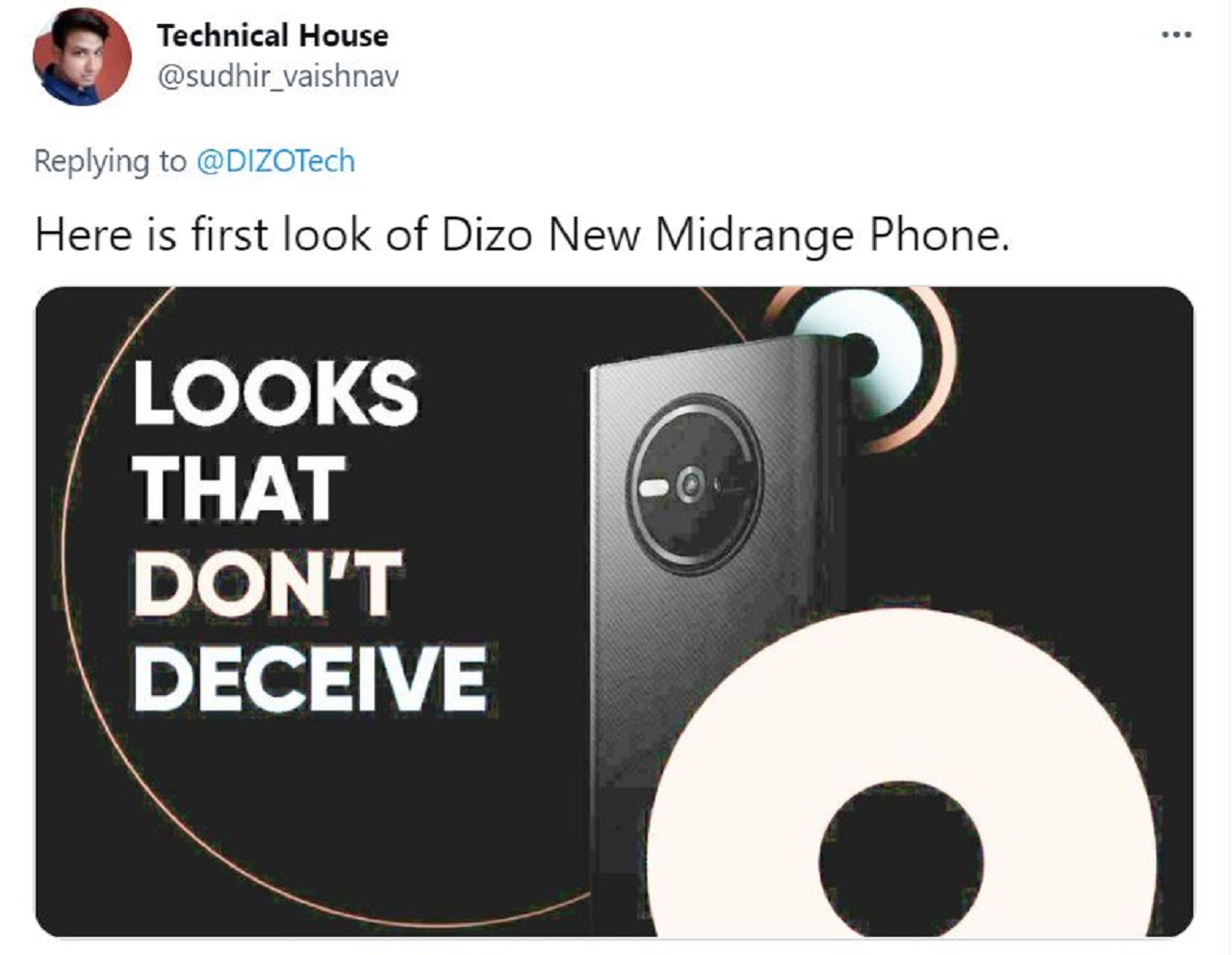 DIZO Shared A Promotional Image From Its First Phone 3