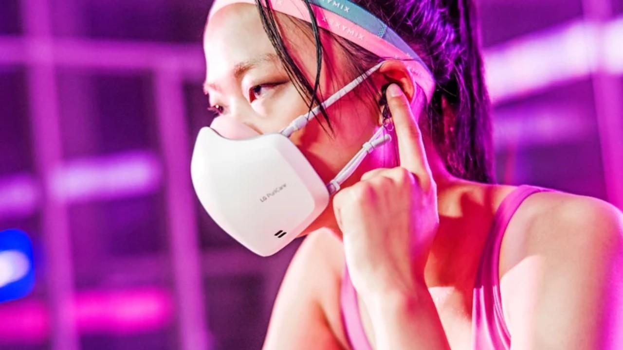 Yok Canım Ne Geç Kalması: LG, Mikrofon ve Hoparlöre Sahip Yeni Elektronik Maskesi PuriCare'i Tanıttı
