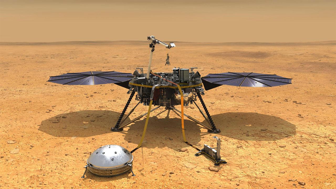 Dünya'ya Çok da Benzemiyormuş: Mars'ın İç Yapısı Detaylı Bir Şekilde Haritalandırıldı
