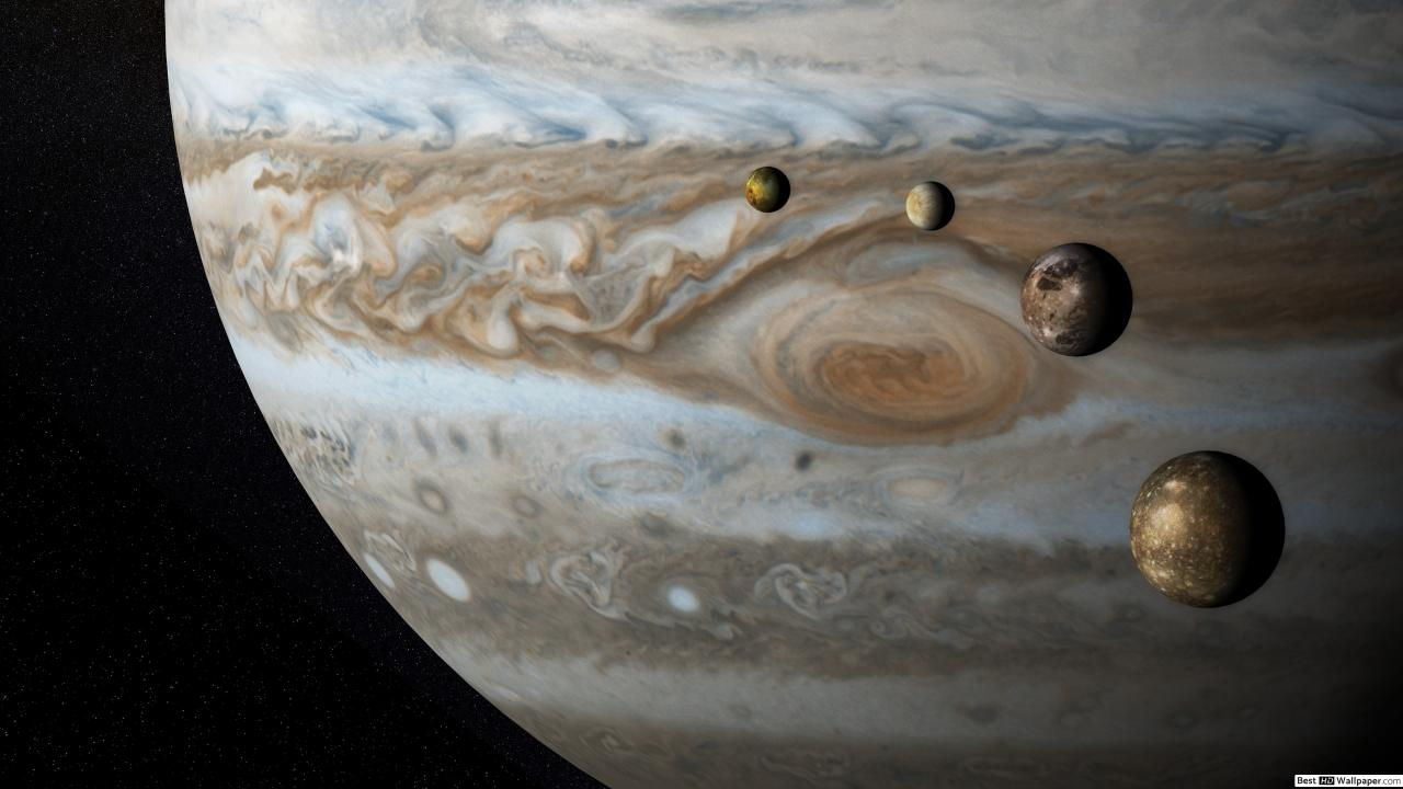 Onlarca Uyduya Sahip Olan Jüpiter'in Yeni Bir Uydusu Daha Keşfedildi