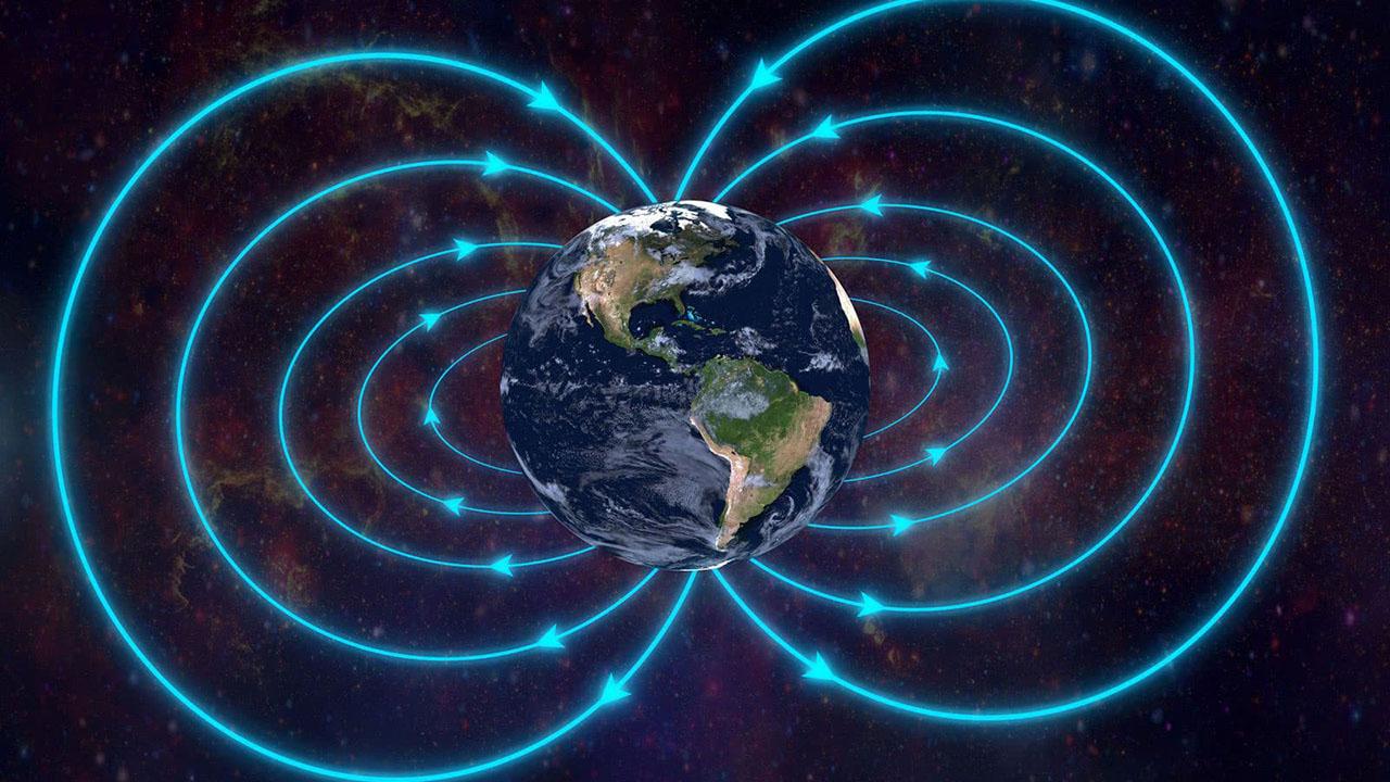 dünya manyetik alan