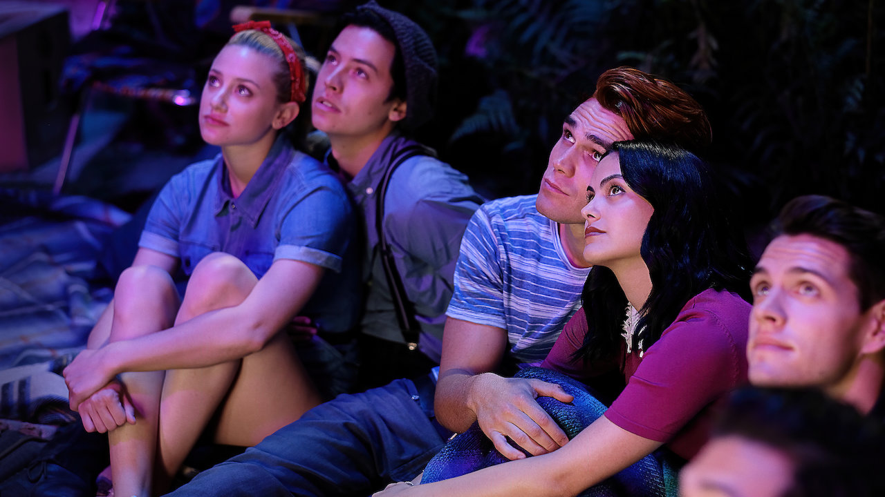 Betty, Jughead, Archie, Veronica and Kevin respectively