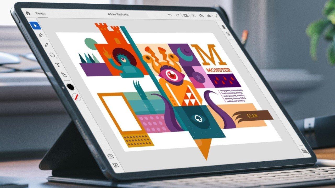 Adobe Illustrator ile yapılmış şekiller ve tasarımlar